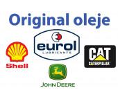 Originální oleje Shell Cat John Deere