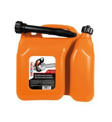 SHERON Kanystr kombinovaný 6 + 2,5 lt oranžový