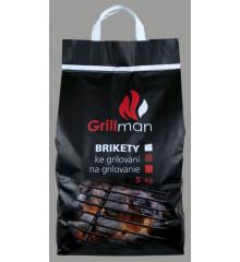 GRILLMAN Brikety ke grilování 5 kg