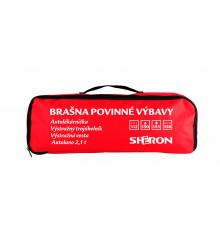 SHERON Brašna povinné výbavy červená /CZ