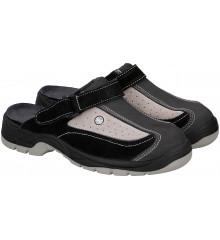 ALLRIDE Truckerské sandály, šedé, vel. 44