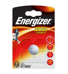 ENERGIZER Knoflíková baterie CR2032 blistr /1ks
