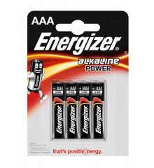 ENERGIZER Alkaline power LR03 AAA /4ks