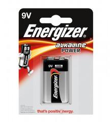 ENERGIZER Alkaline power 6LR61 9V /1ks