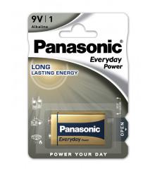 PANASONIC Everyday Power Silver 6LR61/6LF22 9V /1ks
