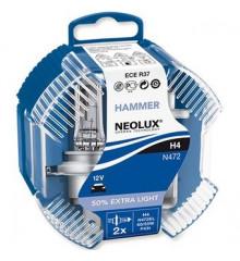 NEOLUX Hammer H4 12V N472EL-Duobox
