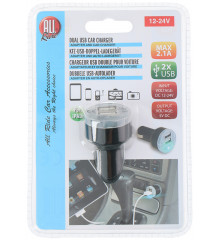 ALLRIDE Nabíječka hříbek 2 USB 2,1 A