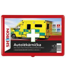 SHERON Autolékárna červená plast CZ 206/2018 Sb.