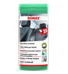 SONAX Utěrky na interiér 25 ks CZ/SK