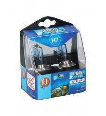 ALLRIDE Žárovka 12 V H7 xenon modrá 2 ks
