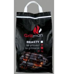 GRILLMAN Brikety ke grilování 2 kg