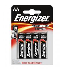 ENERGIZER Alkaline power LR6 AA /4ks