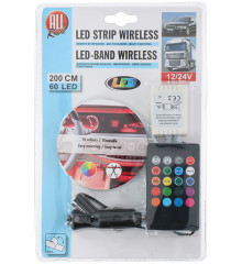 ALLRIDE Světelný pásek 60 LED, 200 cm