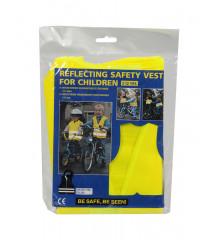 ALLRIDE Rozlišovací dětská vesta žlutá