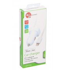 ALLRIDE Connect Nabíječka pro iPhone 2,1 A s kabelem