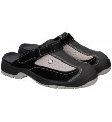 ALLRIDE Truckerské sandály, šedé, vel. 45