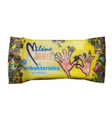 MILÉNE Toaletní ubrousky s antibakteriální přísadou 15 ks
