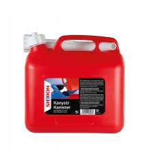 SHERON Kanystr na PHM 5 lt červený/bílý