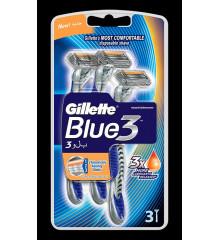 GILLETTE Pohotová holítka Blue3 - 3 ks