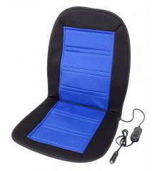 Potah sedadla vyhřívaný s termostatem 12V LADDER modrý