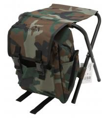 Židle skládací s batohem OLBIA ARMY