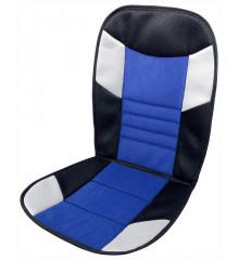 Potah sedadla TETRIS černo-modrý