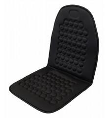 Potah sedadla masážní s magnety černý