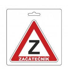 Samolepka ZAČÁTEČNÍK (105 x 120 mm)