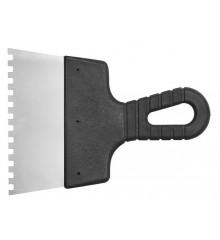 Špachtle 150 mm malířská nerez zuby 8 x 8 mm