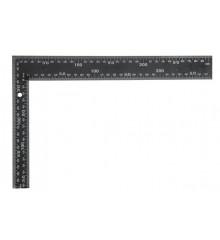 Úhelník truhlářský 300 x 200 mm černý