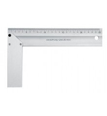 Úhelník truhlářský 300 mm Al