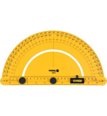 Úhloměr s vodováhou 250 mm