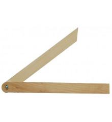 Úhelník 270 mm nastavitelný dřevěný