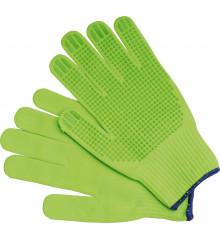 Rukavice pracovní bavlněné zelené vel. 8