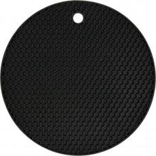 Podložka pod horkou konev silikonová černá