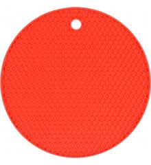Podložka pod horkou konev silikonová červená