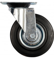 Kolečko otočné, gumové 150kg 200/46/235mm