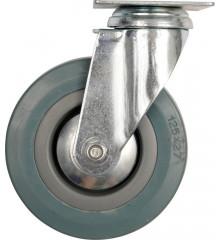 Kolečko otočné, gumové 20kg 50/16/72mm