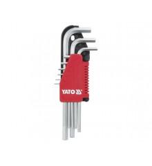 Sada klíčů imbus 9 ks extradelší