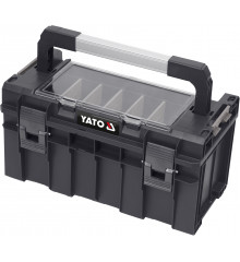 Box na nářadí plastový s organizérem 450x260x240mm