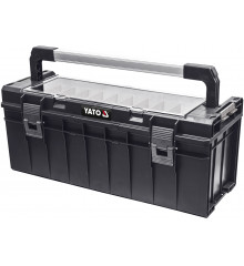 Box na nářadí plastový s organizérem 650x270x272mm