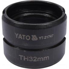 Náhradní čelisti k lisovacím kleštím YT-21735 typ TH 32mm