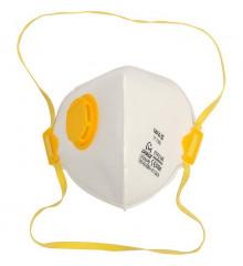 Protiprašná maska s ventilem 3ks