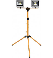 Lampa COB LED na stojanu 2x 20W