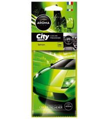 Osvěžovač Aroma CAR CITY LEMON